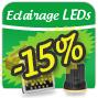 Eclairage horticole aux LEDs